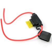 automotive inline fuse - Waterproof Inline Middle Low Profile Case Fuse Holder Blade M00055