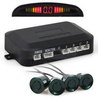 Wholesale Car Parking Radar Sensors Backup Radar System with LED Backlight Display Sensors for Car Rear View System Kit