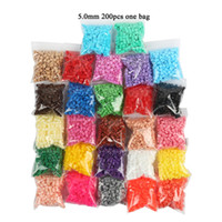 Wholesale mm hama perler fuse beads you can choose colors one bag iron beads kids diy handmaking toys fuse beads