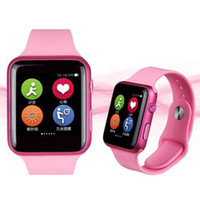 Wholesale 1 Bluetooth IWO Smart Bluetooth Watch with large capacity Waterproof Phone Heart Rate Monitor MTK2502C quot bluetooth smartwatch