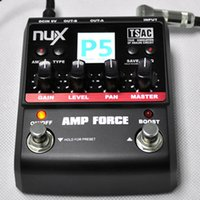amplifier modeling - High Quality Guitar Amplifier Modeling Amplifier Simulator Electric Effector Pedal Models Designed NUX Guitar Accessories
