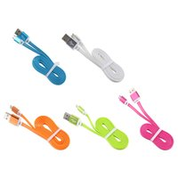Wholesale Surge Wholesale - 1 m 3ft LED Light Usb Cable Micro High Speed Cable Colorful fitbit surge With Luminous