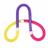 Wholesale Multifunctional Massage Sport Hula Hoop Bodybuilding Waist Slimming Soft Hula Hoop Sport Weight Loose Equipment