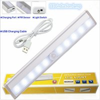 automatic christmas light - Portable Wireless Motion Activated Detector Sensing LED Light Bar Automatic Battery Operated Stick on Anyplace with Magnetic Strip