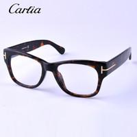 Wholesale TF optical frames Brand Eyeglasses black glasses Retro Fashion myopia Glasses Computer Optical Frame Oculos De Grau myopia glasses