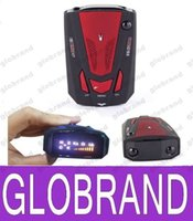 Wholesale 360 Degree Car Speed Radar Detector Voice Alert Detection Shaped Safety for Car GPS Laser LED GLO467