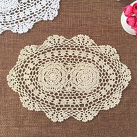 bamboo placemats - of hand crochet centerpieces for wedding handmade placemats OVAL crochet doilies for home decor handmade crochet coaster