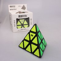 Wholesale Newest MoYu High Quality Pyramid Twist Spring Speed Magic Cube Puzzle Toy