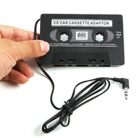Wholesale Audio AUX Car Cassette Tape Adapter Converter MM for iPhone iPod MP3 CD GSCP2393