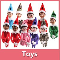 Cheap 2016 New 10 Style Christmas Elf Toys On The Shelf Elves Xmas Dolls For Kids Holiday And Christmas Gift DHL Free 160922