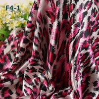 Wholesale Non Elastic Polyester Satin Printed Cloth Fabric Peacock Feathers Style