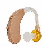 Wholesale Digital Tone Hearing Aids Aid Behind The Ear Sound Amplifier Adjustable F138 Low Moise Low Distortion with retail box