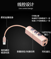 Wholesale IPhone7 plus headset conversion cable adapter Apple generation headset audio conversion head device
