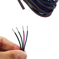 Wholesale Foxnovo M pin RGB Extension Cable Line for RGB LED Strip