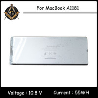 battery macbook white - Battery for MacBook A1181 for the Year of Rechargeable Battery V Wh White Color