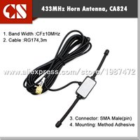 Wholesale whole sale MHz Long Range Antenna mhz patch antenna Ham Radio SMA Male m cable
