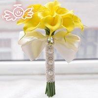 Wholesale 2015 New eternal angel genuine original D389 paragraph bride holding flowers calla round