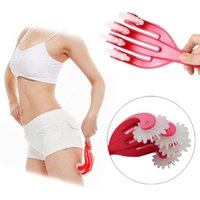 Wholesale Hip Massager Roller Slimming Rolling Massage Anti CelluliteBody Massager Beauty Health Tool with box