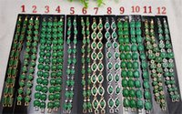 beaded chain mail - Beautiful bracelet Fashionable and green leaves Jade girlfriend mother aunt aunt gift Package mail woman like Many optional