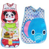 baby sandwich - Super soft foam sandwich stereo waterproof disposable eating take environmental protection EVA baby bibs p l