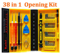 Wholesale DHL Kaisi multipurpose in Precision Screwdrivers Kit Phone Opening Repair Tools Set for iPhone s iPad Samsung