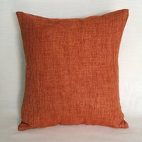 Wholesale Linen Throw Cushion Cover Pillow Cases With Invisible Zipper For Sofa x Inch x x Customized Order