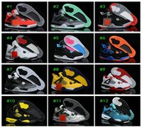 Wholesale 2015 New Retro IV Basketball Shoes Training shoes Men Basketball Shoes Mens Athletics Sports Boots