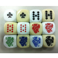 beautiful pc games - 20 Colors Option High Quality Side Poker Dice Board Game Dice Beautiful Design Dice With