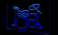 band music instruments - LS056 b My Band Room Drum Music Instruments Light Sign