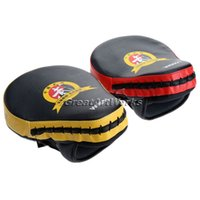 Wholesale Boxing Pads PU Hand Target MMA Focus Punch Pad Boxing Training Gloves Mitts Karate Muay Thai Kick Fighting