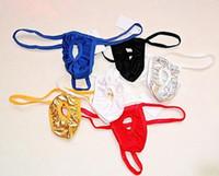 Wholesale New Sexy Men s Bikini Thong G string Briefs Pouch Underwear Underpants