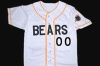 bears jersey numbers - Custom Any Number Bad news BEARS Movie Jersey Button Down Men s Stitched Embroidery Logos Bad news BEARS Movie Baseball Jerseys S XL