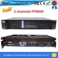amplifiers pa system - Factory price CH fp9000 pa subwoofer high power amplifier system with years warranty on sale