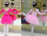 ballet dancing costumes - Baby Girls Childrens Kids Dance Clothing Tutu Skirt Pettiskirt Dancewear Ballet Dress Fancy Skirts Costume Gauze skirt for T