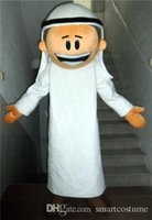 arab men wear - SX0727 positive feedback an Arab man mascot costume with white suit for adult to wear