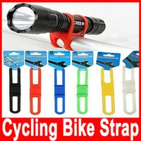 Wholesale Cycling Bike Bicycle Silicone Elastic Strap Bandage Mount Holder Fasten Bind Silicone Strap Several Color for Choose