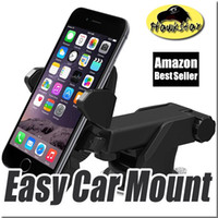 best universal car mount - Easy One Touch Car Mount Holder Phone Amazon Best seller degree for iPhone s Plus Samsung LG HTC MOTO universal