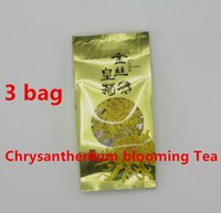 aromatic tea - 3 bag Top Grade Chinese Genuine WUYuan Chrysanthemum Tea Herbal Tea Refreshing aromatic Flower Tea Blooming Tea