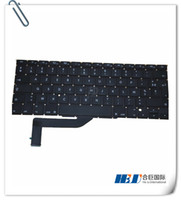 Wholesale Freeshipping Keyboard FR France For Mac book Pro retina quot A1398 MC975 ME MGXA2 Year MOQ