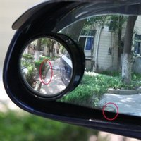 Wholesale 2 x Convex Wide Angle Blind Spot Mirror Rearview Mirror for Car Vehicle Automobile MM order lt no track
