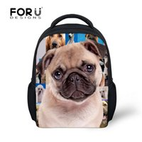 baby rottweiler - French Bulldog Rottweiler School Bags For Baby Kids Girls Boys D Animal Pug Dog Book Bags Kindergarten Small Backpacks Mochilas