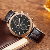 automatic watch movement types - Quartz Watch Multi Functions Calendar Chronograph Watch Japan Movement Sapphire Stainless Steel m Waterproof Men Types