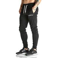 Wholesale New Fashion Men s GASP GOLDS Sports Gym Pants Elastic cotton Male Fitness Workout Pants Sweatpants Trousers Jogger