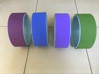 Wholesale Colors cm Yoga Wheel Yoga Circles Yoga Fitness Exercise Tools mm Yoga Training Supplies M
