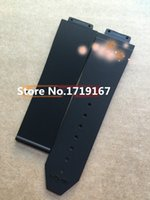 Wholesale Clasp Connection mm Replacement mm Black Rubber Watch Band Strap For HUB H BIG Tools