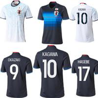 Wholesale New Japan soccer jersey OKAZAKI home away KAGAWA HASEBE top quality Japan football shirt soccer jersey