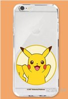 best apple type - Best Price Poke TPU Transparent Cell Phone Case For IPhone s Iphone Plus Cartoon Back Cover Type Opp Pack GD C04