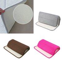 Wholesale Hot Search Memory Foam Bath Mats Bathroom Horizontal Stripes Rug Absorbent Non slip Bath Mats