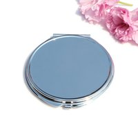 metal compact mirror - New Portable Makeup Mirror DIY mirror Custom Engraved compact mirrors Great Personalized wedding gift for bridesmaid Favors M0840 x