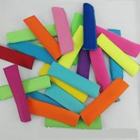 Wholesale 1000pcs Pop Ice Sleeves Freezer Pop Holders Popsicle Sleeves Summer Icy Block Lolly Cream Holder For Kids cm